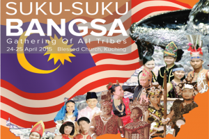 24-2th April 2015 – Perhimpunan Suku-suku Bangsa 马来西亚民族聚集 Gathering of all tribes
